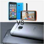 HTC One M9 VS Microsoft lumia 640 XL LTE | Comparison | Specification