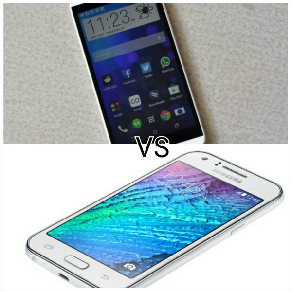 HTC DESIRE 626 VS SAMSUNG GALAXY J1 4G