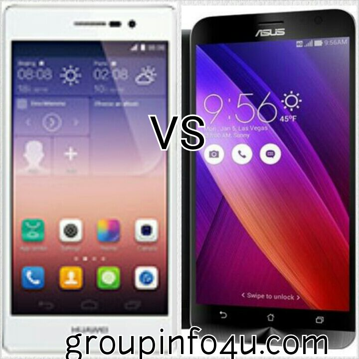 HUAWEI P8 VS ASUS ZENFONE 2 | COMPARISON | SPECIFATION | CAMERA FEATURE