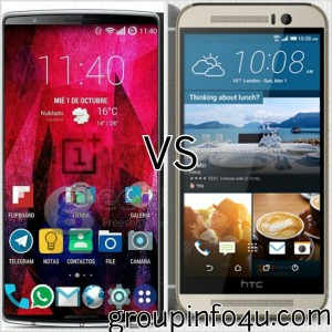 ONE PLUS TWO VS HTC ONE M9 | OXYGENOS | COMPARISON | SPECIFICATION