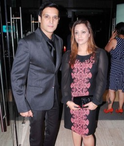 jimmy Shergill with his wife