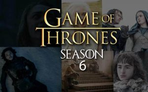 Thrones Game wikipedia details,season 6,HBO,Premiere