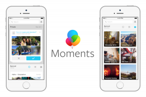 facebook launches moments app,wiki,Purpose