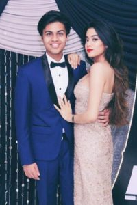 Janhvi Kapoor with Boyfriend